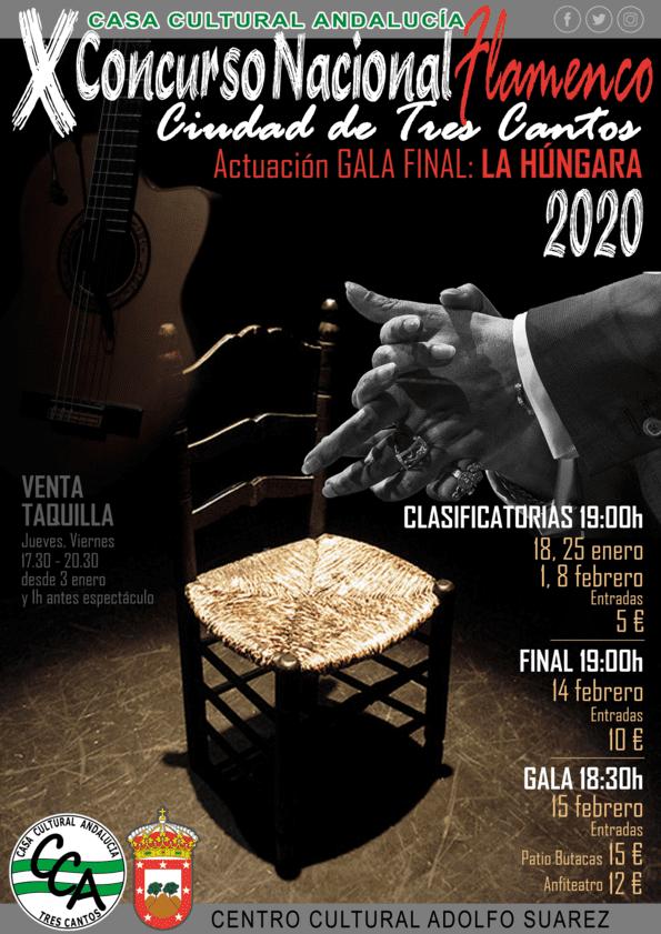 """X Concurso Nacional Flamenco """"Ciudad de Tres Cantos"""""""